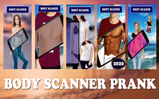 Full Audery Body scanner Real Camera Prank 2020 screenshot 6
