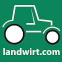 Agri farm machinery search icon