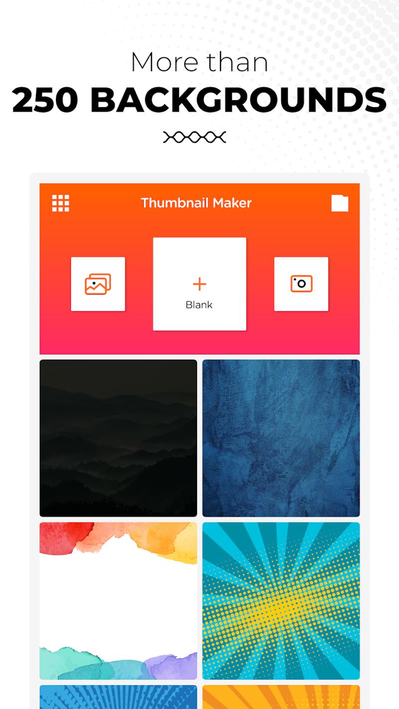 Thumbnail Maker: Youtube Thumbnail & Banner Maker Screenshot 1