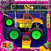 Monster Truck Factory Games