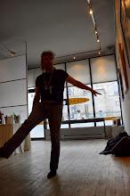 Photo: Nik Beat at Urban Gallery - photo by Jennifer Hosein