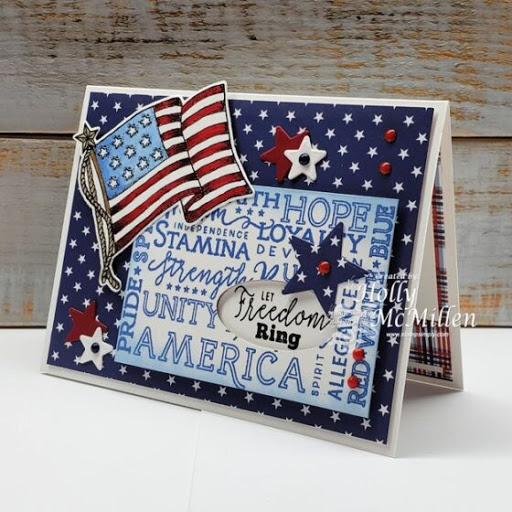 NEW!!! The Red, White & Blue – by Holly McMillen