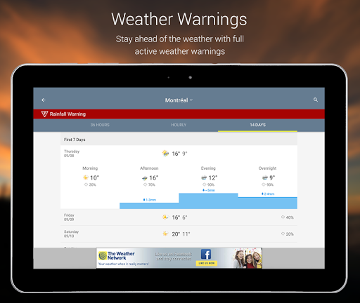 The Weather Network  screenshots 10
