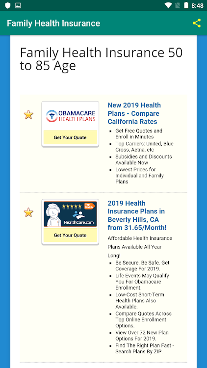 Family Health Insurance Android Apps Appagg