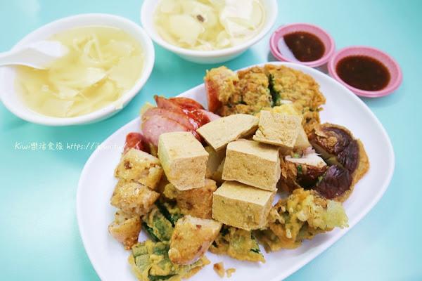 台中豬頭三的店,便宜炸粿 筍子湯/大骨湯/蚵嗲(近東東芋圓、新社花海)