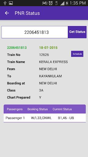 Live Train Status for PC