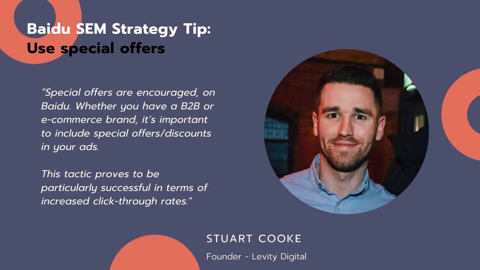 Baidu SEM Strategy Tip : Use special offers