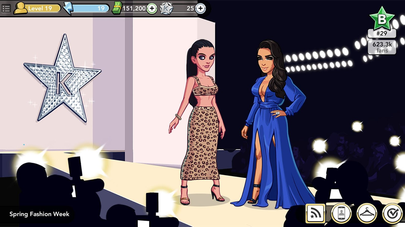 Datierungsstufen in kim kardashian hollywood