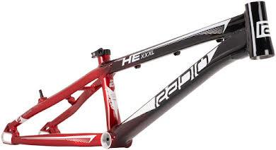 Radio Helium  BMX  Race Frame - Black and Red / Black alternate image 7