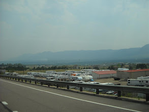 Photo: Smoke/haze at Monument from fires on the Colorado-New Mexico border