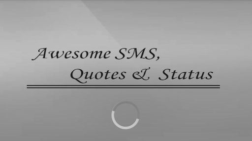 Awesome SMS Quotes Status