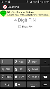 Secure, Smart, PIN- screenshot thumbnail