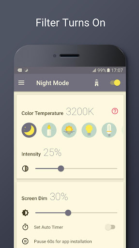 Blue Light Filter – Night Mode v1.3.0N [Unlocked]