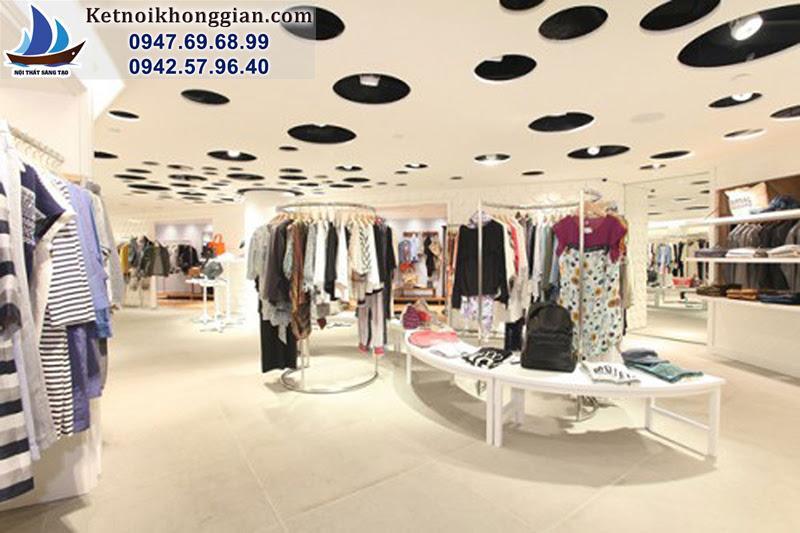 thiết kế cửa hàng chất lượng cao
