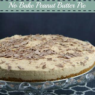 No Bake Peanut Butter Pie.