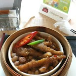 chicken feet at the airport - MOST DISGUSTING DISH EVER in Shanghai, Shanghai, China