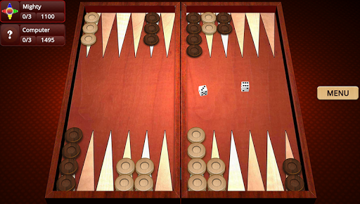 Backgammon Mighty 2.23 screenshots 1