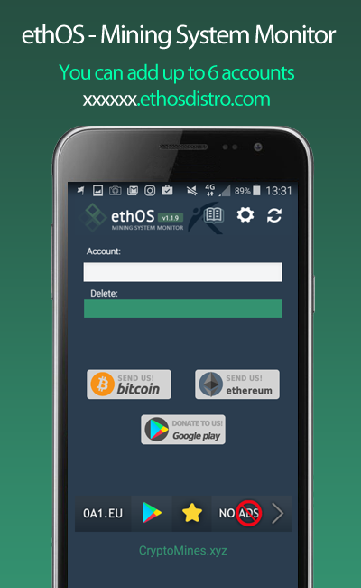 ethOS - Mining System Monitor 4
