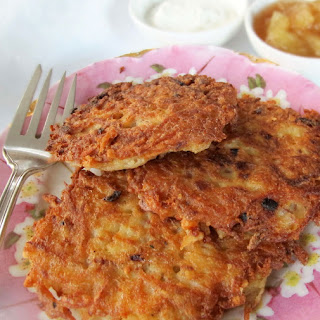 """Basic"" Potato Latkes"
