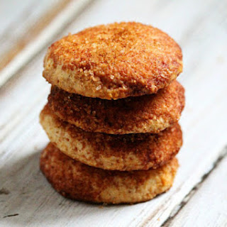 Flourless Vegan Snickerdoodle Cookies (Vegan, Gluten-Free, Dairy-Free, Egg-Free, Paleo-Friendly, No Refined Sugar).