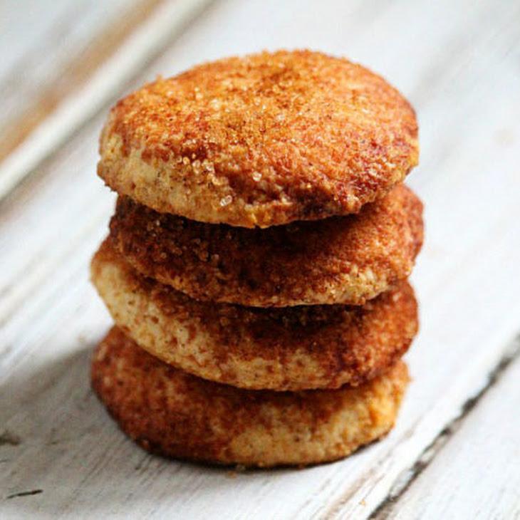 Flourless Vegan Snickerdoodle Cookies (Vegan, Gluten-Free, Dairy-Free, Egg-Free, Paleo-Friendly, No Refined Sugar)