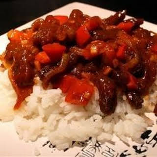 Spicy Beef Rice Recipes.