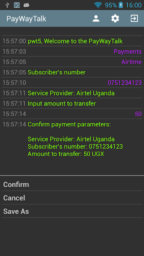 PayWay Talk screenshot 2