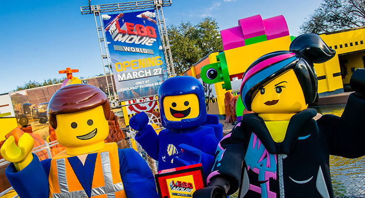 THE LEGO MOVIE WORLD will open on 27th March!