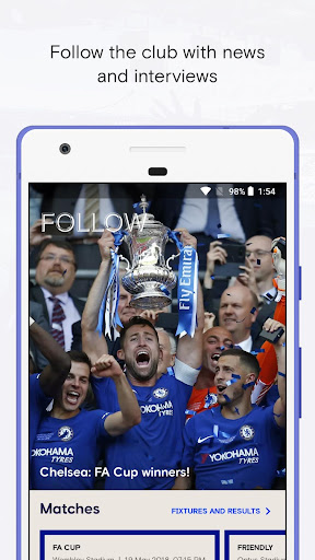 Chelsea FC - The 5th Stand Mobile App 1.7.0 screenshots 2
