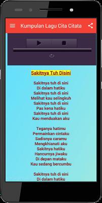 Kumpulan Lagu Cita Citata - screenshot