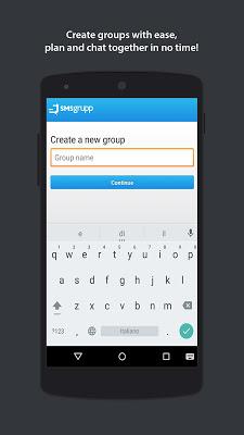 SMSgroup - Group messaging - screenshot