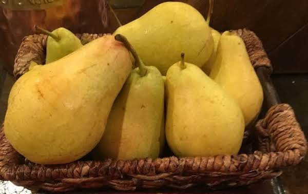 Beautiful Home Grown Pears