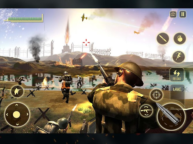WW2 Survival War Prisoner : FPS Shooting Game Android 6