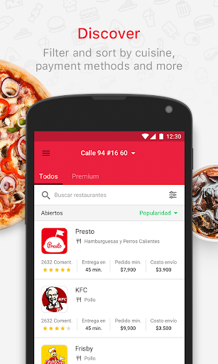 Domicilios.com - Order food 3.2.23 screenshots 1