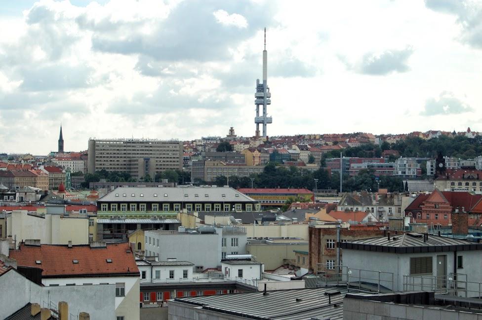 Wieża telewizyjna na Žižkovie, Žižkov
