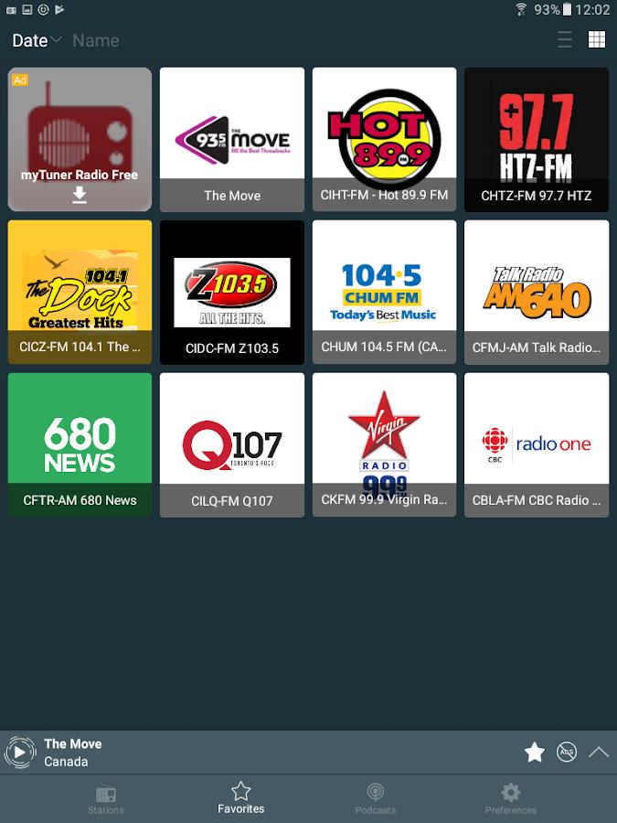 Radio player canada app for mac free