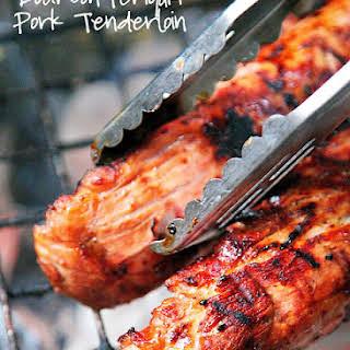 Bourbon Teriyaki Pork Tenderloin.