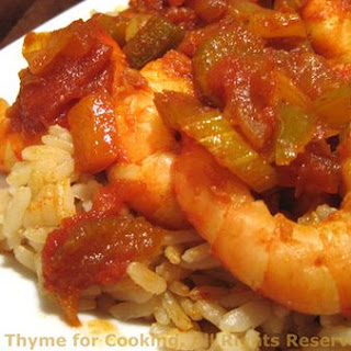 Shrimp Creole, the fine art of wasting time