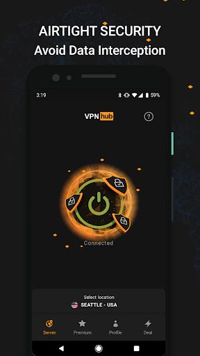 VPNhub Best Free Unlimited VPN - Secure WiFi Proxy 2.15.10-mobile Screenshots 5