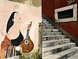 Лиссабон такжже известен яркими граффити
