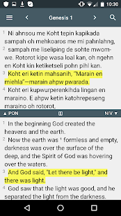 Pohnpeian Bible- screenshot thumbnail