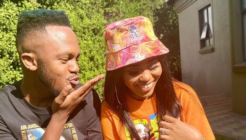 SNAPS   Kwesta & Yolanda celebrate one year of marital bliss