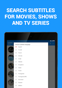 Subtitles for Movies & TV Series Screenshot