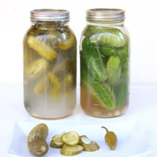Grandpa Ruven Israeli Lacto fermented Pickles