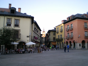 Photo: Plaza Virgen de la Encina. Ponferrada