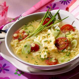 Eierblumen-Suppe
