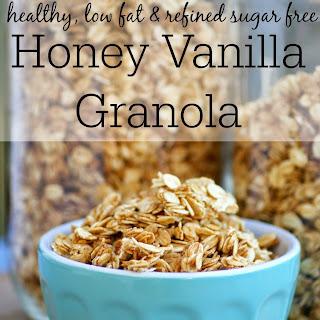 Healthy Homemade Honey Vanilla Granola Recipe