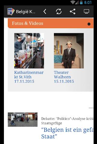 android actualités belgique - Press Screenshot 2