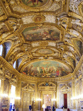 Photo: The ceiling paintings include the Age of Peace and the Age of Victory by Adolphe Brown.