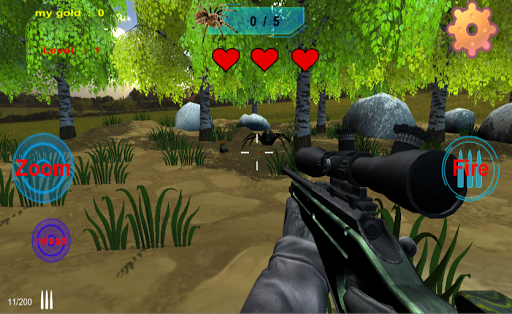 spiders hunting .Hunter & Shooter 3D Hunting Games 109 screenshots 1